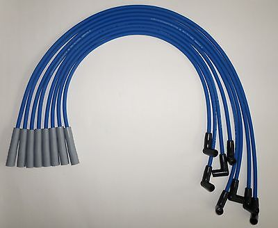 Big Block CHEVY 396-427-454-502 HEI BLUE 8mm SPARK PLUG WIRES-Straight Boot USA  for sale  Barnegat