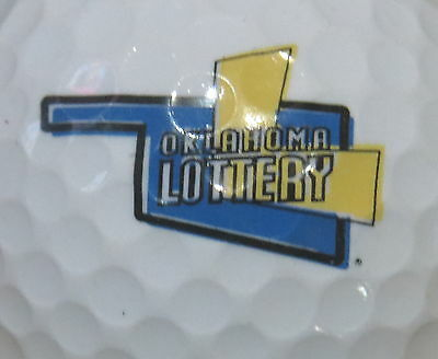 (1) OKLAHOMA STATE LOTTERY CASINO LOGO GOLF BALL ()
