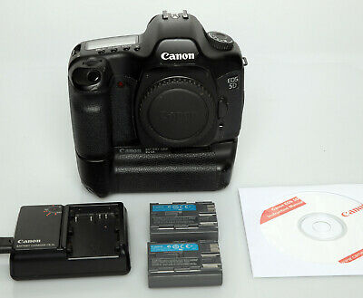 Canon EOS 5D mk I  12.8 MP Full Frame DSLR with Canon Battery Grip + Extras