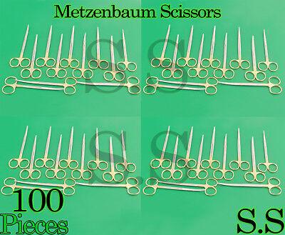 100 Supercut Scissors Metzenbaum 5.5 Curved Surgical Dental Veterinary Instru