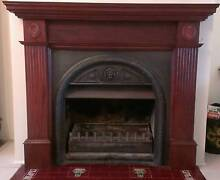 Victorian Timber Fireplace East Kurrajong Hawkesbury Area Preview