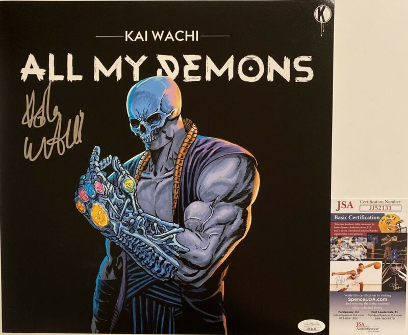 Kai Wachi Signed Autographed All My Demons 12x12 Photo EDM Producer JSA COA