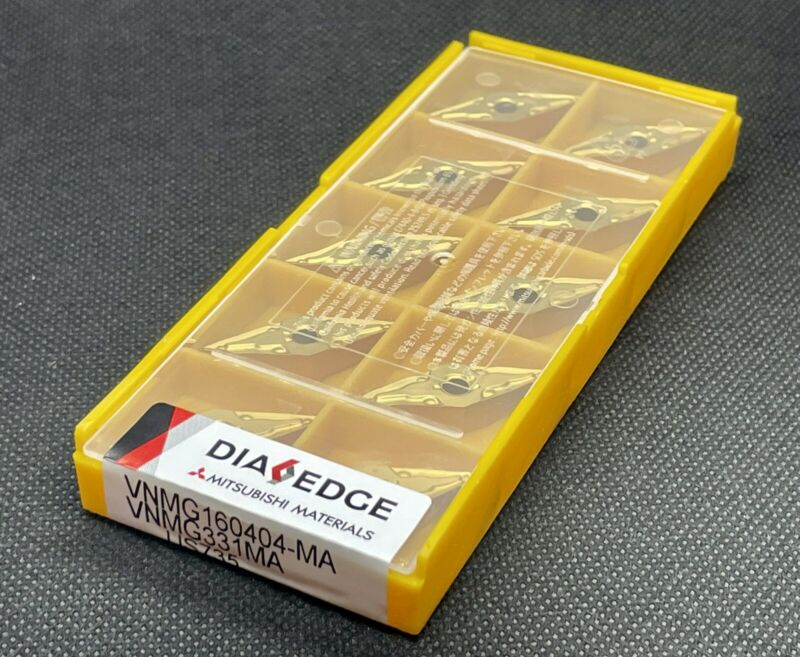 Mitsubishi Dia Edge VNMG 331 MA US735 VNMG 160404  Carbide Inserts (10 PCS)