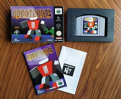 Robotron 64 Completo Nintendo 64 PAL Eur Envio Combinado