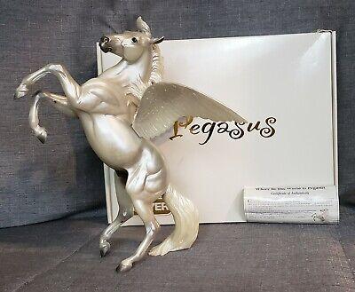 Breyer Treasure Hunt Pegasus on Silver Mold with COA and BOX