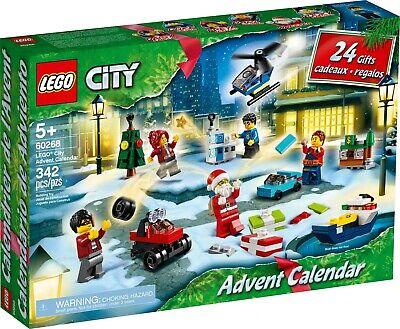 Lego 60268 City Advent Calendar 2020 Christmas Minifigures& Presents NEW