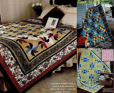 Одеяло Patterns Townhouse Pinwheels , Sea