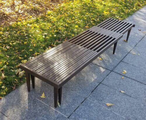 60s Expansion Slat Bench / Coffee Table-MCM-Eames/Danish Modern Era