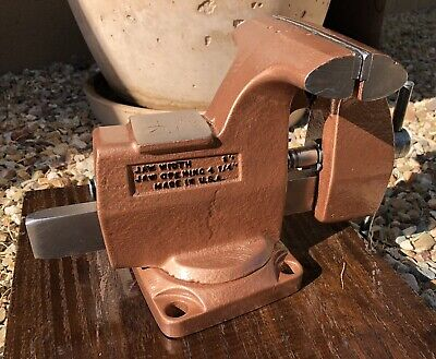 Vintage Wilton Swivel Bench Vise 5 Jaws Restored Made In Usa