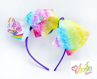 JOJO SIWA Hair Headband Rainbow Bow Girls Hair Accessories Gift