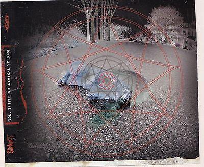 Slipknot STICKER Album Cover Art Decal Heavy Metal Music Vol 3 Subliminal Verses