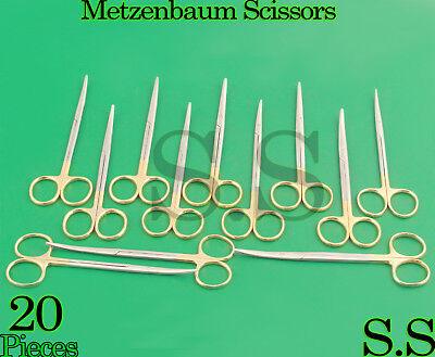 20 Supercut Scissors Metzenbaum 5.5 Curved Surgical Dental Veterinary Instrumen