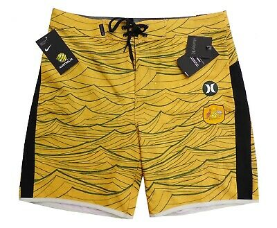 Hurley Badeshorts Badehose Boardshorts Phantom AUSTRALIA NATIONAL TEAM 38 / XL