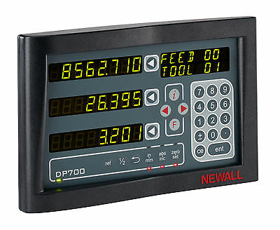 Newall Digital Read Out Dro Dp700 Display - 3 Axes