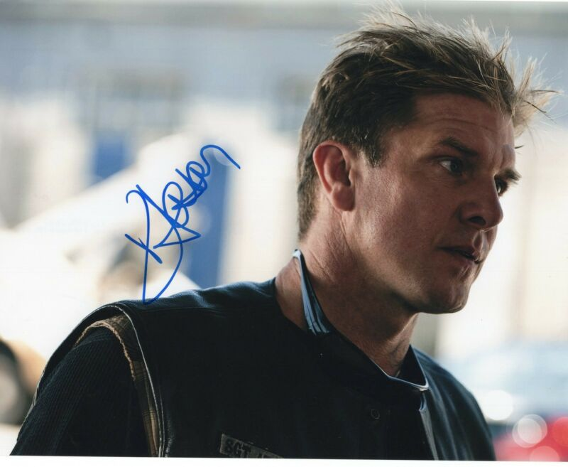 Kenny Johnson Sons of Anarchy The Shield Signed 8x10 Photo w/COA #4