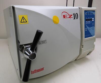 Tuttnauer Ez10 2540ea Automatic Autoclave Steam Sterilizer Tattoo Beauty Bench