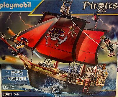 Playmobil 70411 Galeone dei Pirati