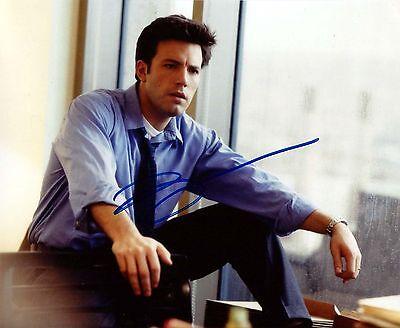 Ben Affleck Signed Handsome 8X10 Photo   Autograph