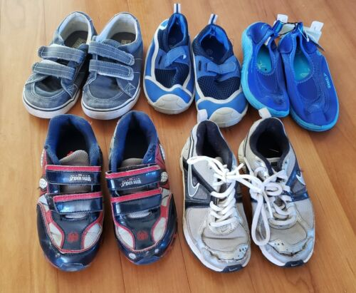 Boys size 11 lot of 5 pairs of Shoes
