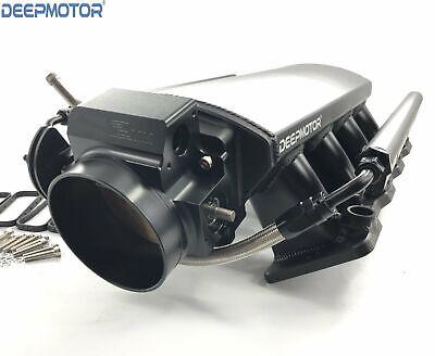 Low Intake Manifold LS1 LS2 LS6 92mm w/ MAP Sensor Port Fuel Rail Throttle (Port Intake Manifold)