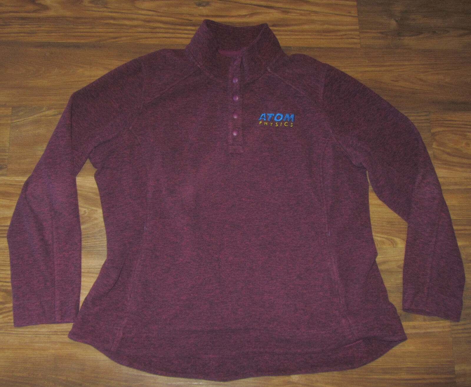 Atomic Physics Mens Long-Sleeve Shirt, Duluth Trading Co, Red, Size 2XL, EUC - $16.00