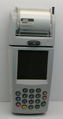 Lipman Nurit 8000 Credit Card Scanner With Stylus And Power Cord
