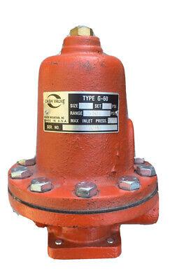 Cash Valve Safety Relief Valve 12 G60 75-100 Psi Waterair