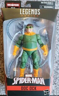 Spider-Man Marvel Legends Infinite SP//dr Suit Series Doc Ock Action Figure 6""