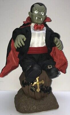 Gemmy Halloween Dancing Vampire 1998 Animated WORKING Dracula - Halloween Animated Vampire