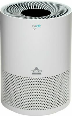 BISSELL - MyAir 100 Sq. Ft . Personal Air Purifier - White