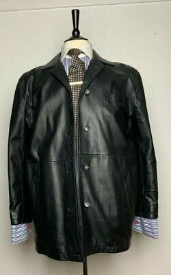 BURBERRY LONDON LEATHER COAT 16 Size (No washing label and tag)