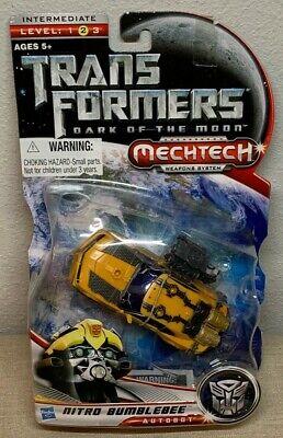 Transformers Dark Of The Moon Mechtech NITRO BUMBLEBEE Autobot Intermediate 2