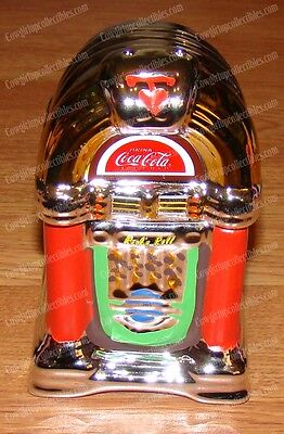Jukebox Salt & Pepper Shakers (Official Coca-Cola, 45335.02) Coke and A Song