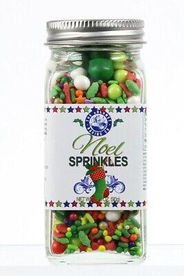 Noel Whimsical Blend Sprinkles For Baking & Decorating Baked Goods ()