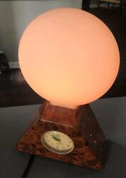Vintage The SunRise Alarm Clock Bio-Brite 1997 Glass Dome Dawn Simulator Light