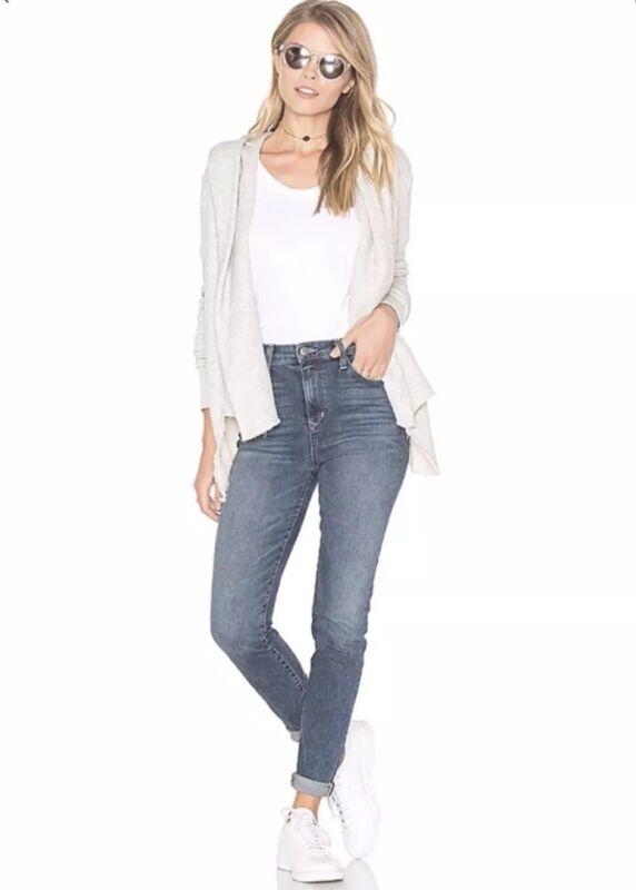 NEW $298 Free People NSF Heather Grace Cardigan Sweatshirt Hoodie Size Large