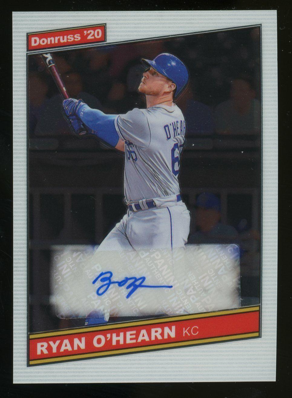 2020 Donruss Optic 86S-RH Ryan O Hearn Kansas City Royals AUTO  - $1.84