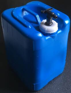 20L Water Jerry Can Storage Container Tank with Built-in Tap Everton Park Brisbane North West Preview
