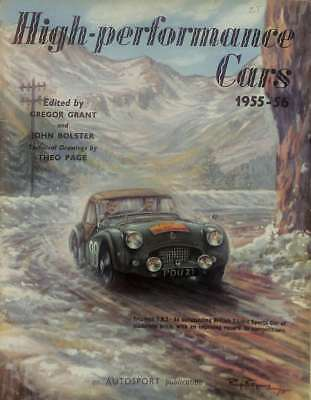 High-Performance Cars 1955-56, Grant Gregor And Bolster John, Good Condition Boo