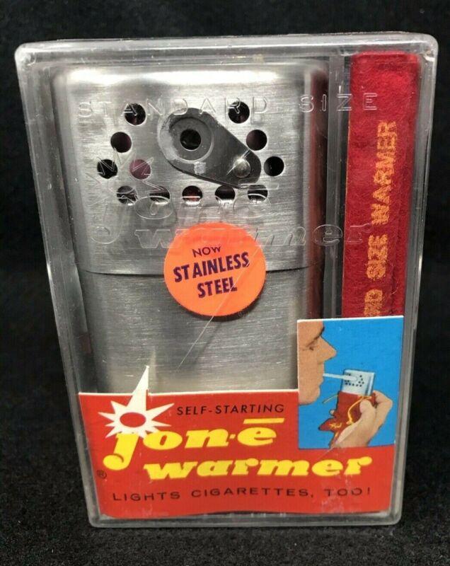 Jon-e Vintage Hand Warmer with Original Pouch, Instructions & Plastic Case