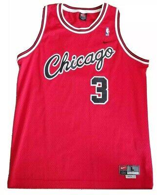 NBA CHICAGO BULLS TYSON CHANDLER BASKETBALL JERSEY SIZE LRG +2 NIKE NBA Vintage