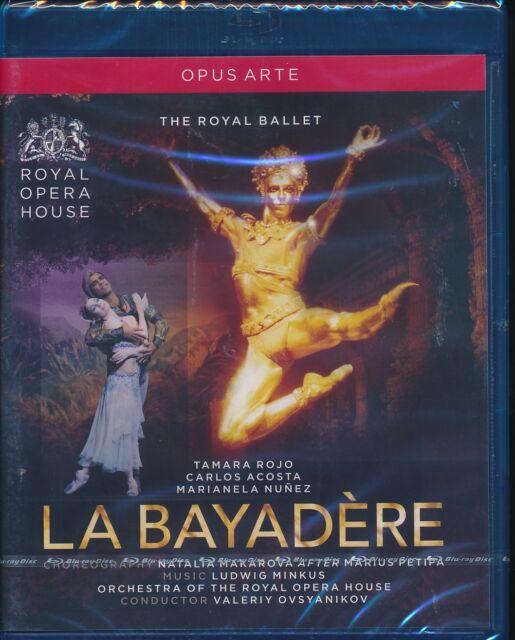 Royal Ballet La Bayadere Blu-ray NEW Tamara Rojo Carlos Acosta