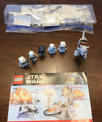 LEGO 7749 Star Wars Echo Base 100% Complete w/ Tauntaun & manual- no box