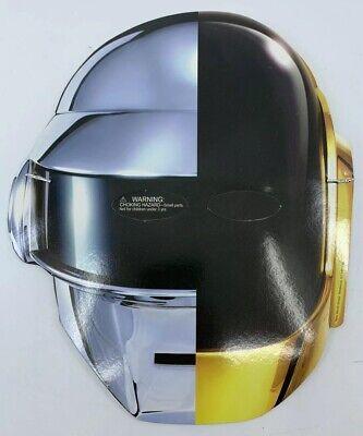 NEW Daft Punk Promo Mask Random Access Memories CD LP Halloween Costume UMF MMW (Daft Punk Halloween Mask)