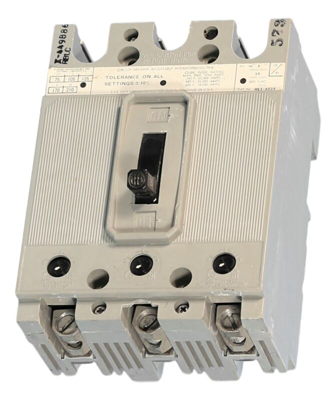 HE3A025 ETI High Interrupting Motor Circuit Protector by ITE Gould Siemens