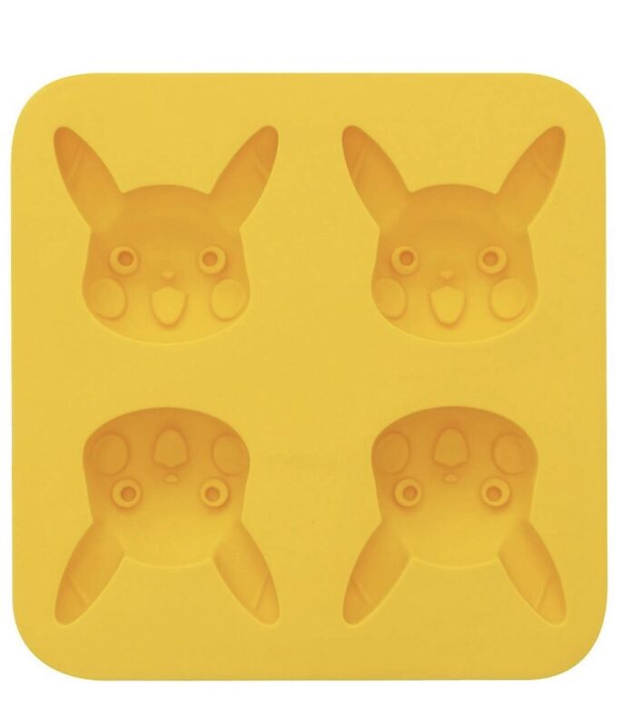 Pikachu Shape Soap Mold Silicone Cake Mould For Candy Chocolate Pokemon Silicon