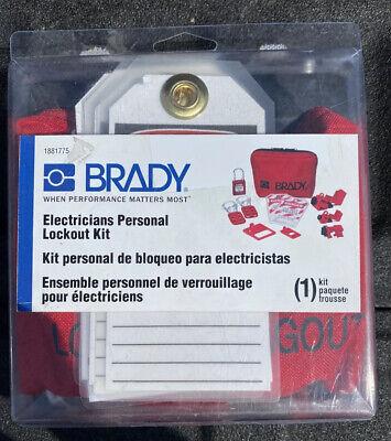 New Brady Electricians Personal Lockout Kit 1881775 1 Kit