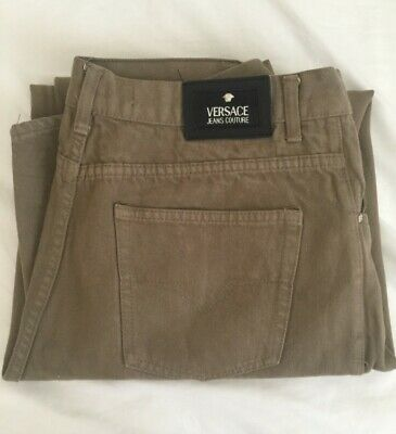 VERSACE VINTAGE MEN'S JEANS / SIZE 35 x 30 / MADE IN ITALY