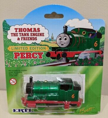 "Thomas The Tank Engine Shining Time Station ""Percy"" by ERTL Limited Edition"