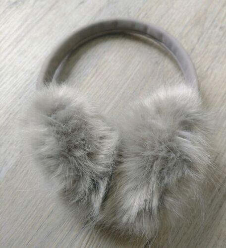Bluetooth Headphones Earmuffs Faux Fur Restoration Hardware